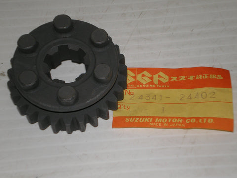 SUZUKI ALT185 LT185 1984-1987 Transmission Fourth Driven Gear 24341-24402