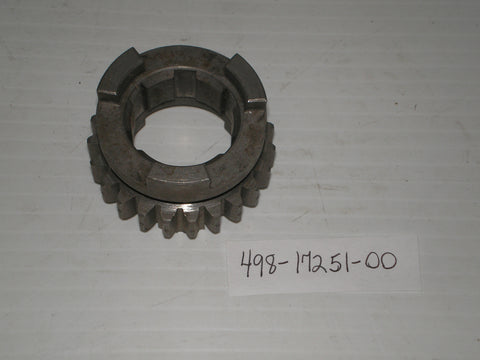 YAMAHA DT250 DT400 MX400 Transmission 5th Wheel Gear 23T 498-17251-00