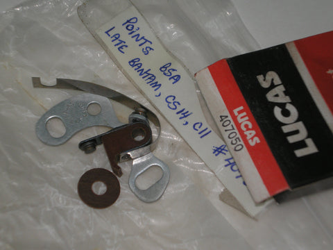 LUCAS BSA  CS14 C11 1950  Contact Set 1A45  407050