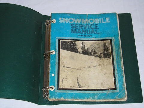 1965-1973 yamaha ski-doo polaris Snowmobile Service Manual #S154
