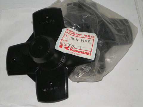 KAWASAKI KLF300 1986 Front and  Rear Hub Cap 11012-1452