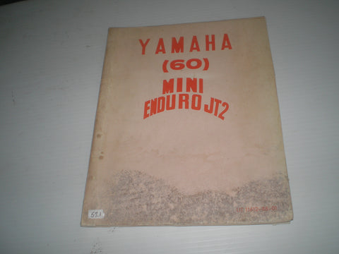 YAMAHA 60  JT2  Mini Enduro 1972  Service Manual  11612-88-01  #57.1