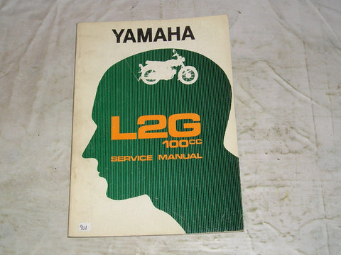 YAMAHA 100  L2  L2G  1971  Factory Service Manual  #901