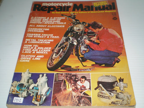 Motorcycle Repair Manual 2 stroke & 4 stroke  Petersen's 02343  #1671