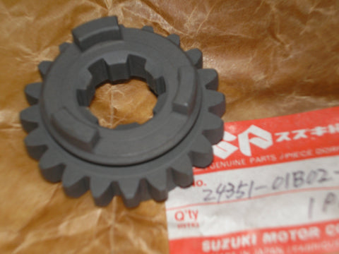 SUZUKI RM125 1986-1991 Transmission Fifth Driven Gear 24351-01B02