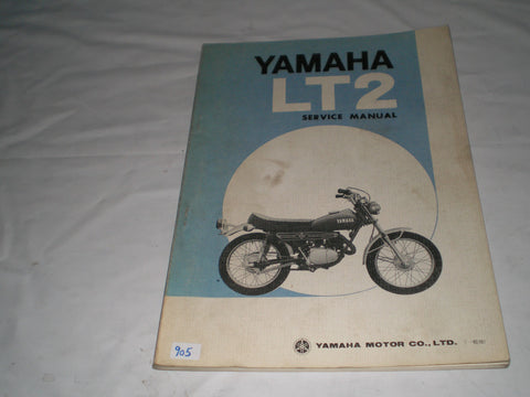 YAMAHA 100  LT2 1972  Factory Service Manual  #905