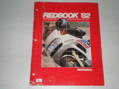 HONDA 1982 Facts & Features for 60 Honda Models Information Book  #926