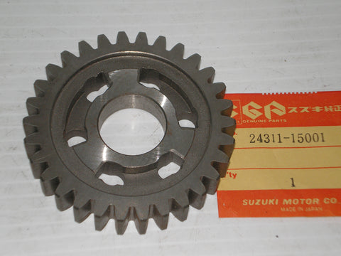 SUZUKI GT500 T500 1968-1977 First Driven Gear 24311-15001