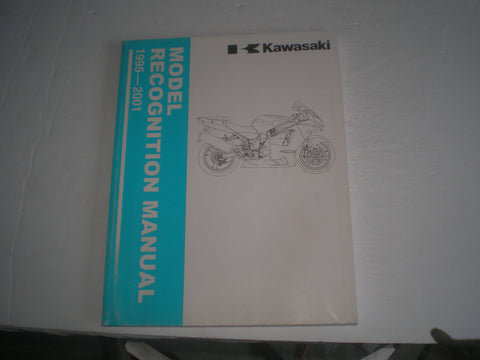 KAWASAKI 1995-2001 Model Recognition Manual  99930-1007-01  #1381