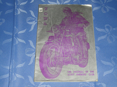 YOWL The Journal of the Scott Owners' Club - May 1971  #A70
