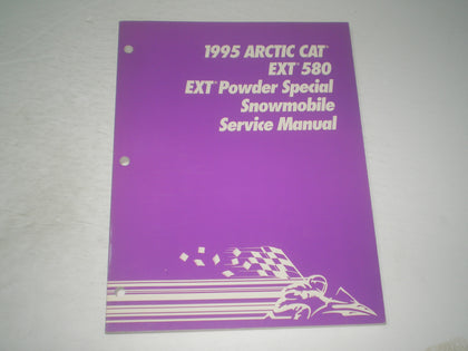 ARCTIC CAT EXT 580 & EXT Powder Special 1995 Service Manual  2255-137  #S249