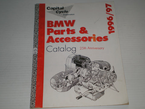 BMW Parts & Accessories 25th Anniversary 1996/1997 Catalogue  #E64