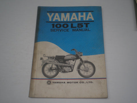 YAMAHA 100 L5T Trailmaster  1969  Service Manual  #1513