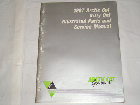 ARCTIC CAT Snowmobile  Kitty Cat 1987 Parts & Service Manual #S11