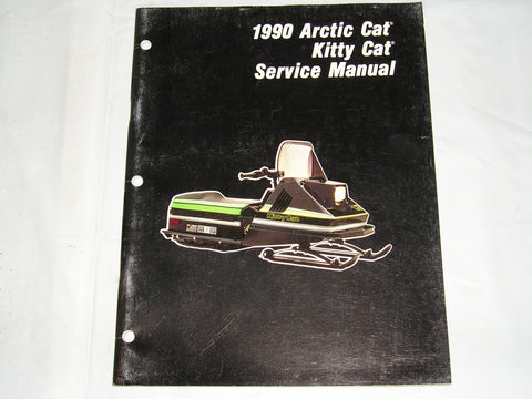 ARCTIC CAT Snowmobile 1990 Kitty Cat Service Manual #S45
