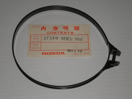 HONDA VF700 VF750 Air Cleaner Chamber Joint Tube Band 17349-MK3-000 17349-MB1-000