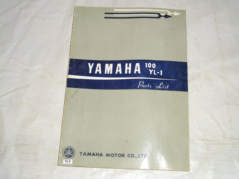 YAMAHA 100  YL1 YL-1  1966   Factory Parts List  #919