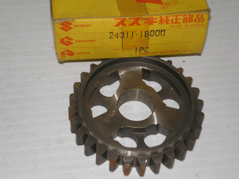 SUZUKI GT250 GT380 T250 T305 T350 TC305 1969-77 First Driven Gear 24311-18000