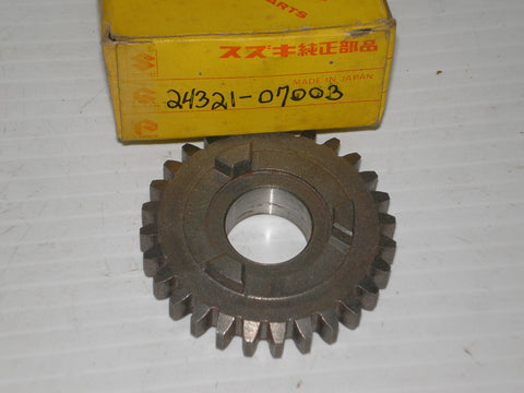 SUZUKI A100 RV90 1972-1976 Second Driven Gear 24321-07003
