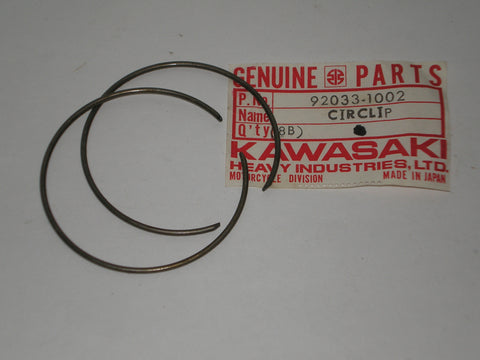 KAWASAKI KZ1000 1978-1981 Oil Seal Retaining Circlips 92033-1002