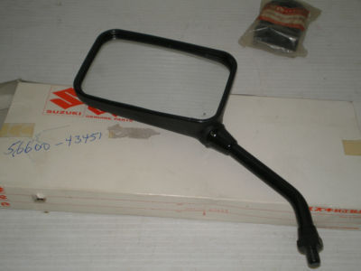 SUZUKI GS700 GS750 GS1100 GS1150 1982-1986 L/H Rear View Mirror 56600-43451