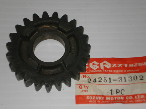 SUZUKI GS700 GS750 1983-1985 Fifth Driven Gear 24251-31302