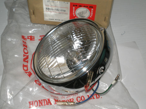 HONDA CB93 CB125 Head Light Lens Assembly 33100-216-010