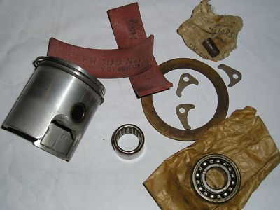 VILLIERS Starmaker Parts Lot  piston bearing ferrodo brake lining