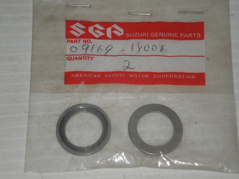 SUZUKI LT250R 1985-1992 Piston Pin Bearing Thurst Washers Set/2 09169-18006