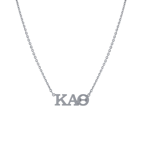 Sorority Greek Letter Necklace