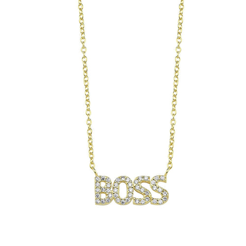 Boss Fashion Necklace