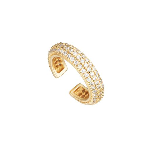 Triple Row Dazzling Pavé Ear Cuff