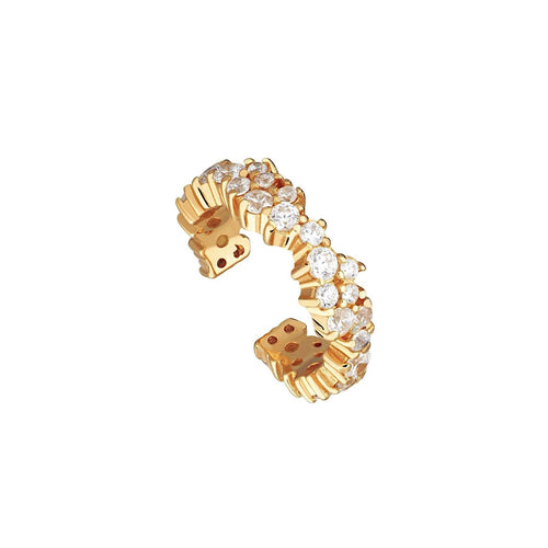Pavé Embellished Ear Cuff
