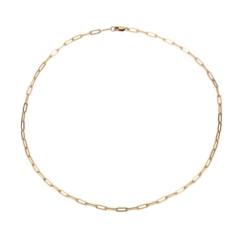 Micro Rectangle Chain Choker