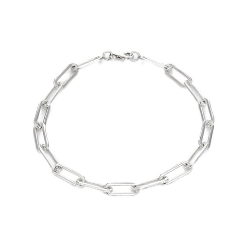Rectangle Link Chain Bracelet