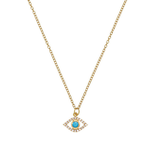 Evil Eye Turquoise Necklace