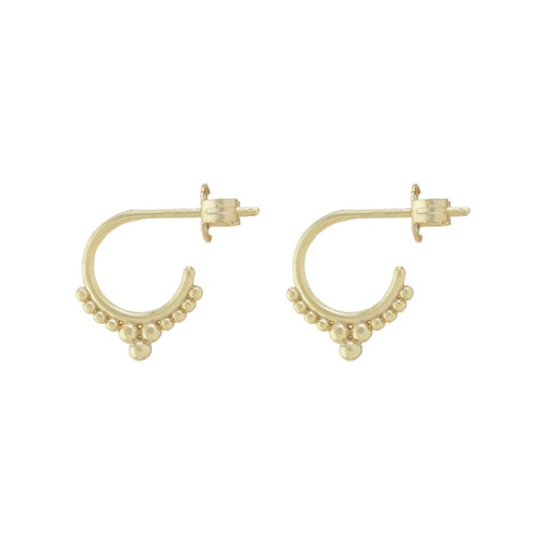 Goddess Mini Hoop Earrings