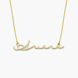 Airy Script Personalized Name Necklace