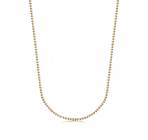 Sparkling Delicate Ball Chain Necklace
