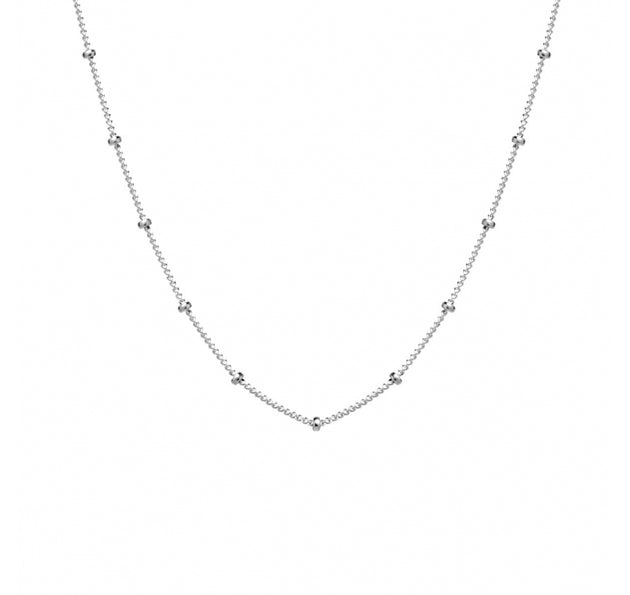 "Satellite Dot 18"" Chain Necklace"