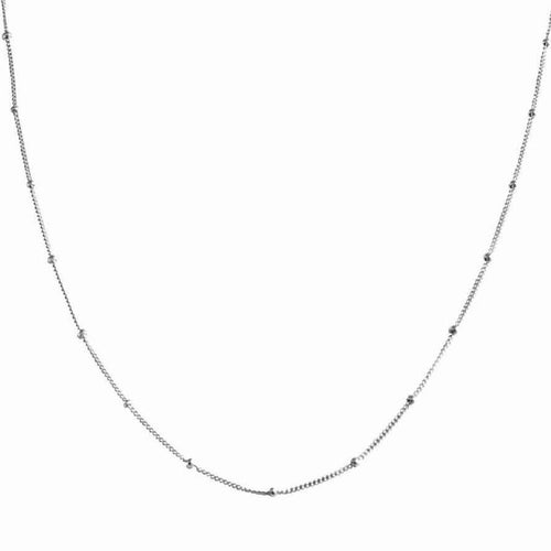 "Satellite Dot 18"" Layering Chain Necklace"