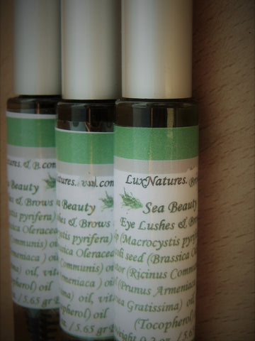 Kelp oil lashes and eyebrows serum - Lux Natures Soaps & Skincare