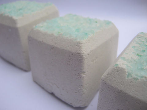 Mint Eucalyptus shower tabs fizzies - Lux Natures Soaps & Skincare