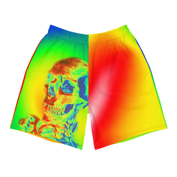 Thermal all-over-print shorts