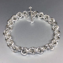 Sterling Silver Triple Twist Bracelet - Bold 16 Gauge