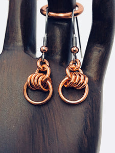Copper Four-Fer Earrings