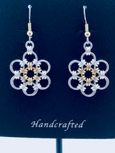 Sterling Silver HexaFleur Daisy Earrings - Fine 18 Gauge
