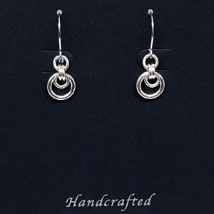 Sterling Silver Mini Hoop Earrings