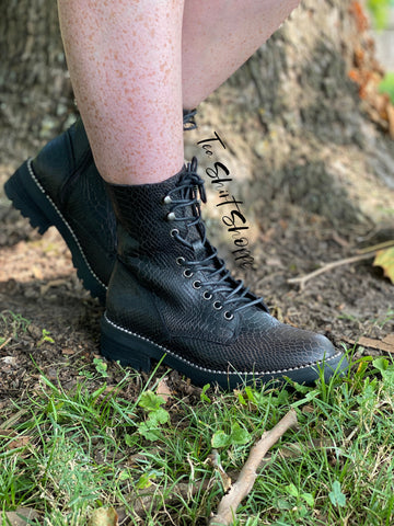 Very G Conquest Combat Boots