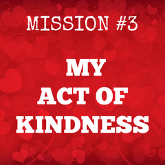 Act of Kindness Love Challenge